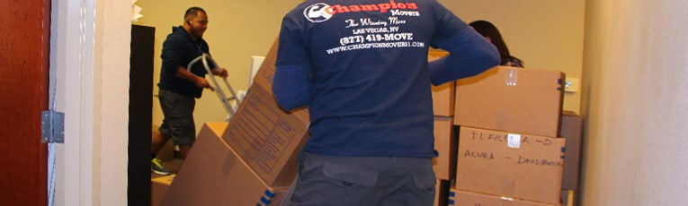 Commercial Movers Las Vegas - Champion Movers