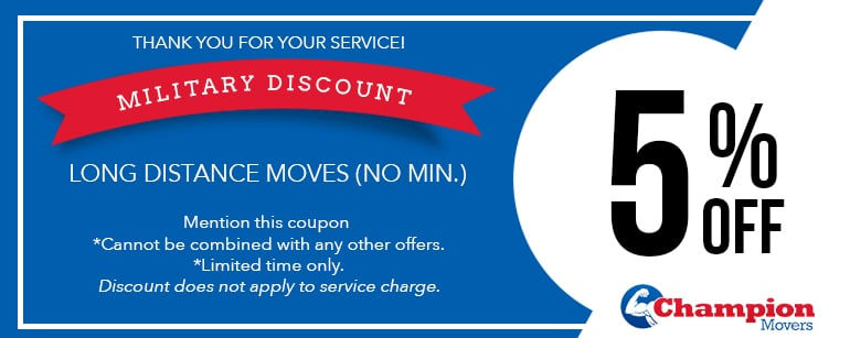 Movers Las Vegas Coupons Military Discount
