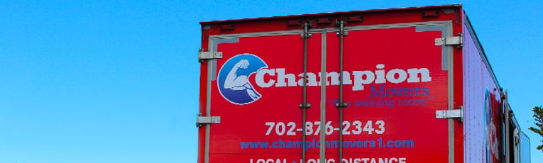 Movers in Las Vegas - Champion Movers
