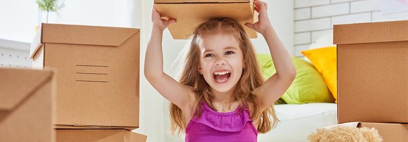 4 ways to prepare children for a move
